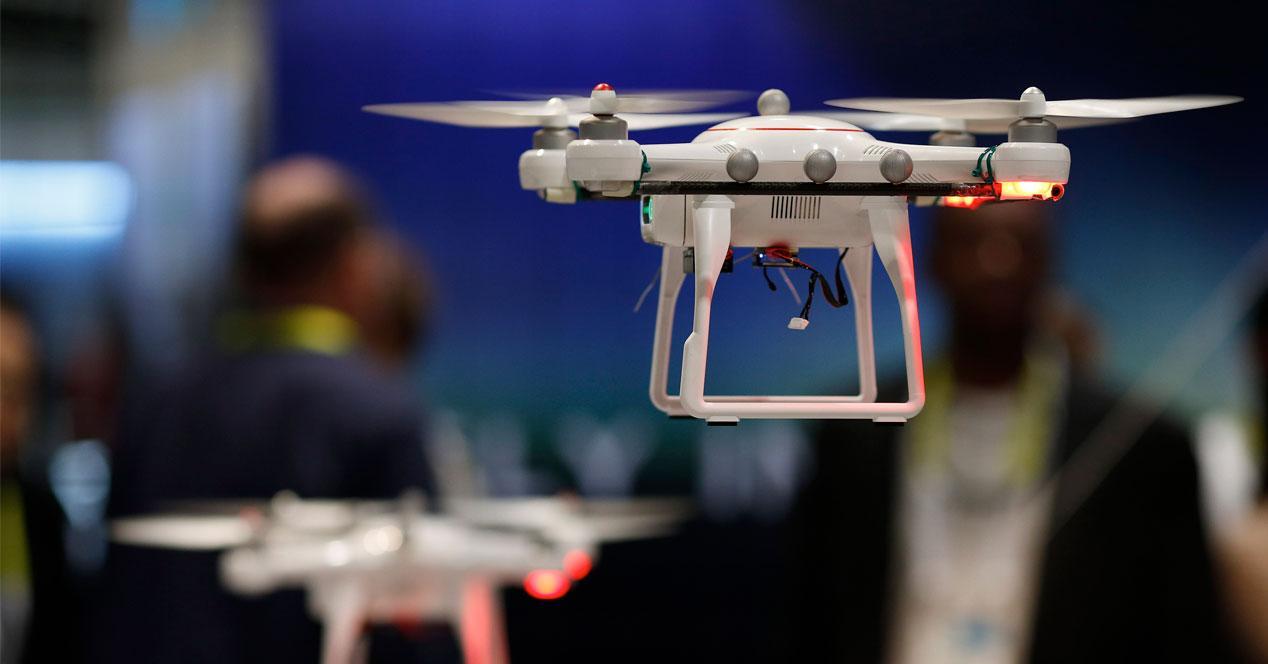 show con drones