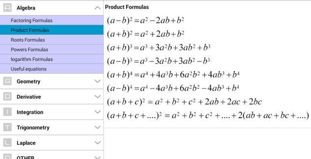 formulas-matematicas