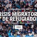 Google será tan solidaria con los refugiados como lo seas tú