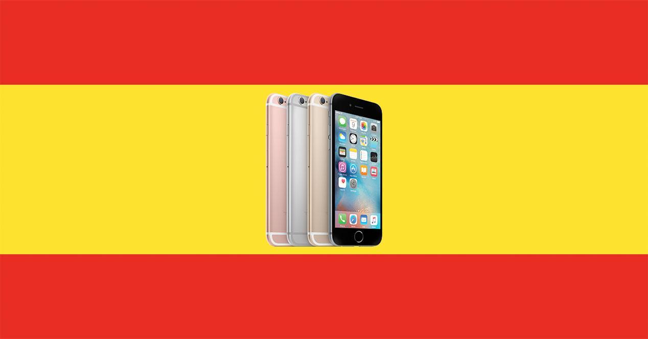 iphone 6s españa