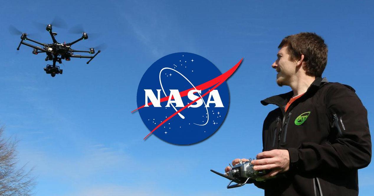 vigilancia drones nasa