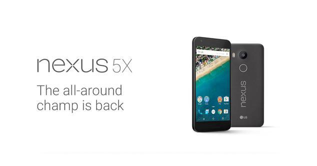 Ver noticia 'Nexus 5X: Toda la información y características oficiales'