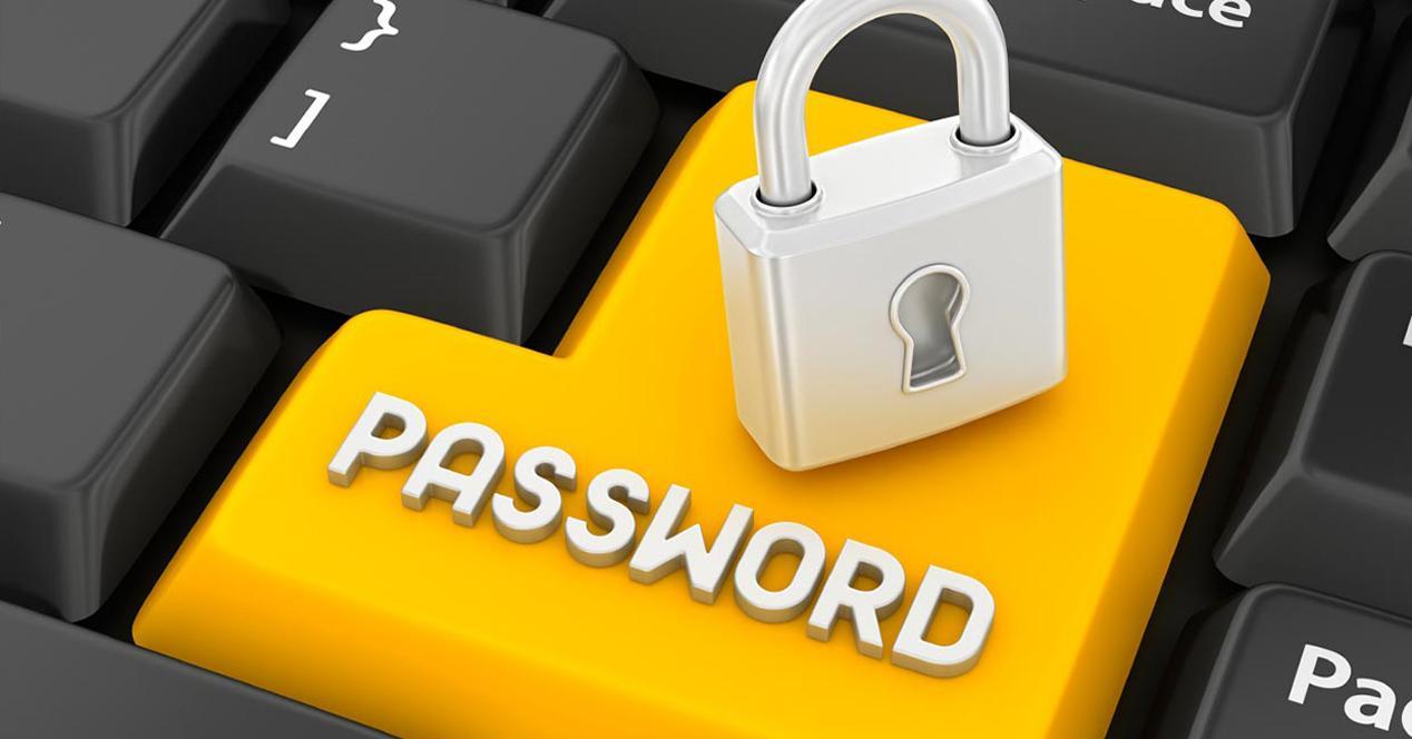 password teclado