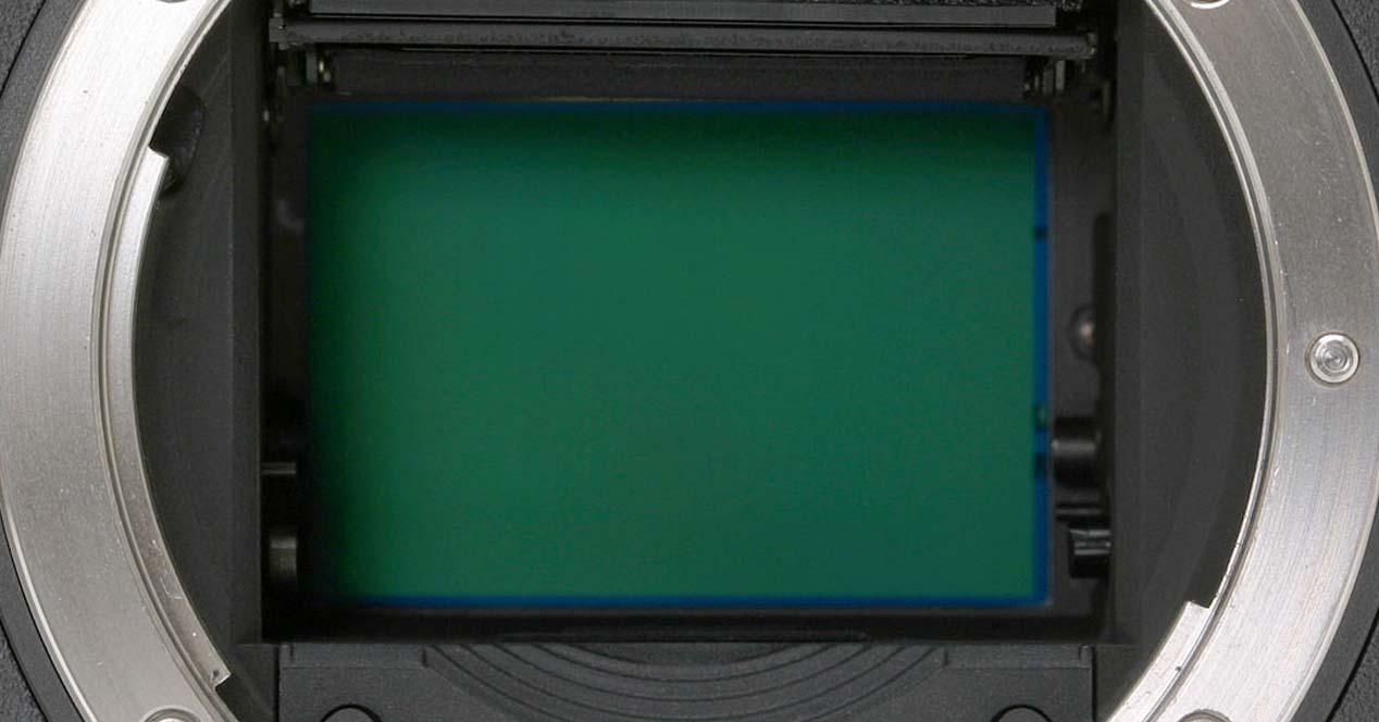 sensor camara reflex