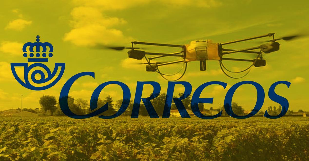 drones en correos