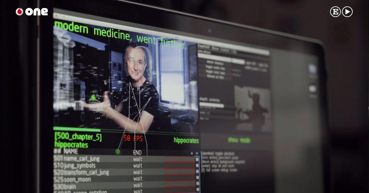 Vodafone One pantalla de ordenador del futuro