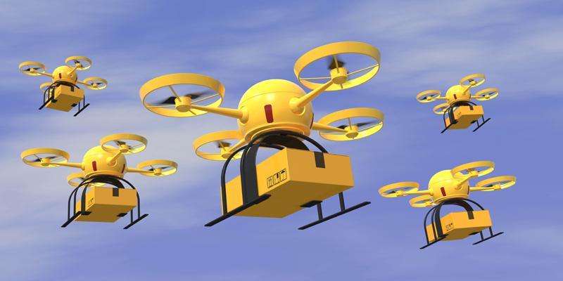 Formar n parte los drones del servicio postal en un for Correo postal mas cercano