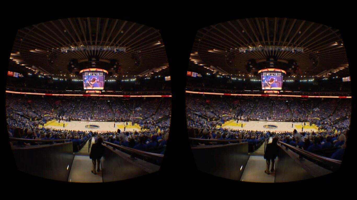 tecnologia realidad virtual nba