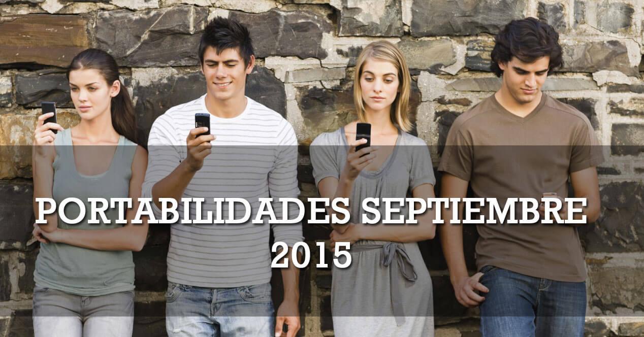portabilidades septiembre 2015