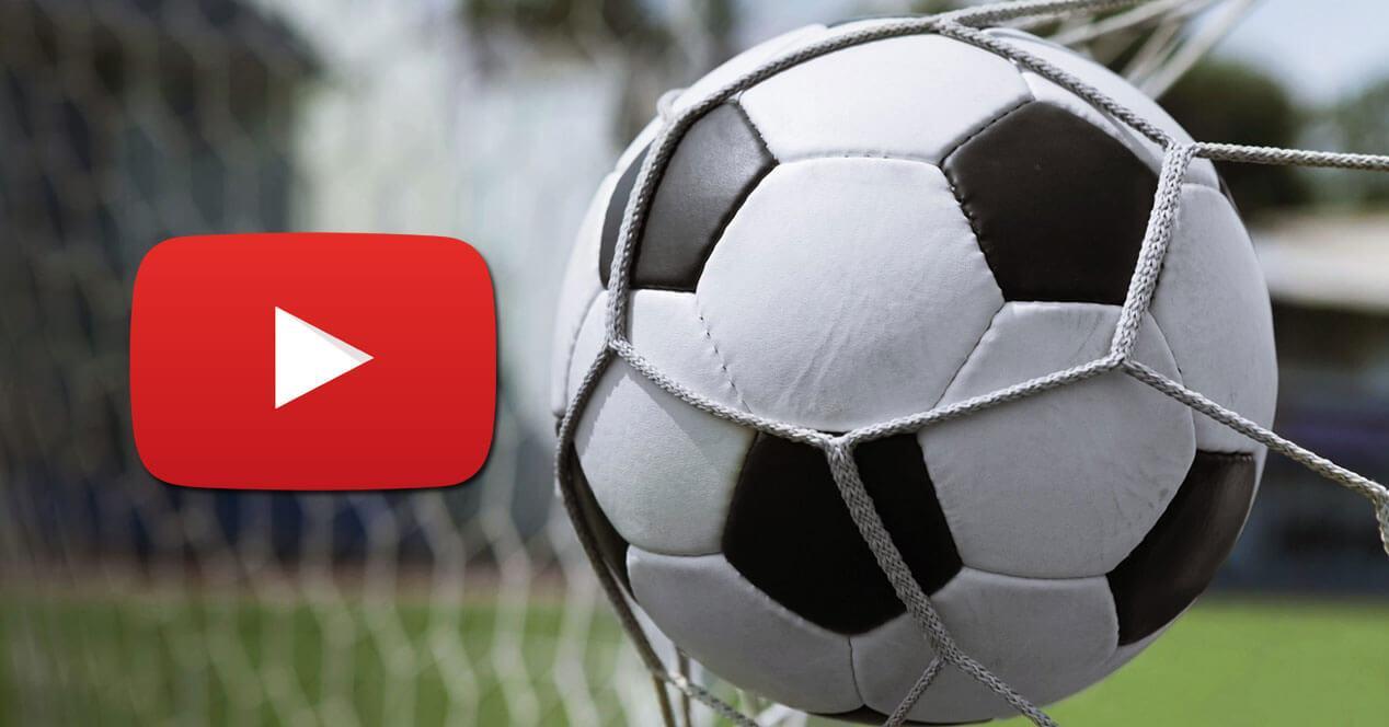 retransmisiones futbol youtube