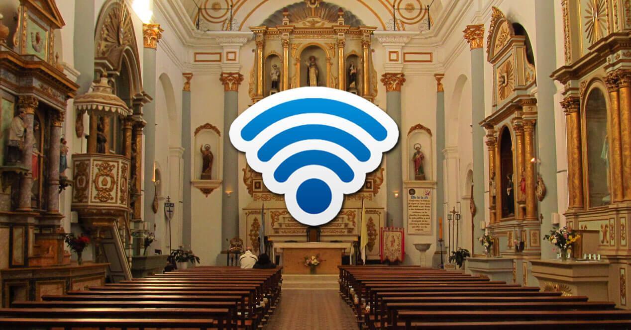 conexion wifi iglesia