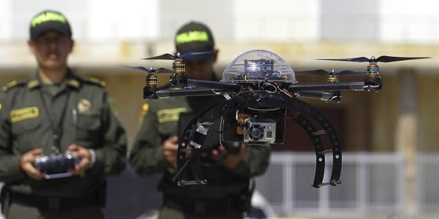 Drone Policia