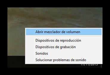 Windows 10 - Opciones de audio
