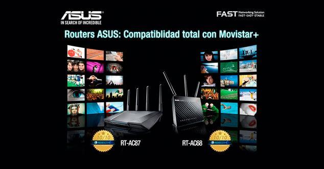 Ver noticia 'Los routers de ASUS ya son 100% compatibles con Movistar+, conoce sus ventajas'