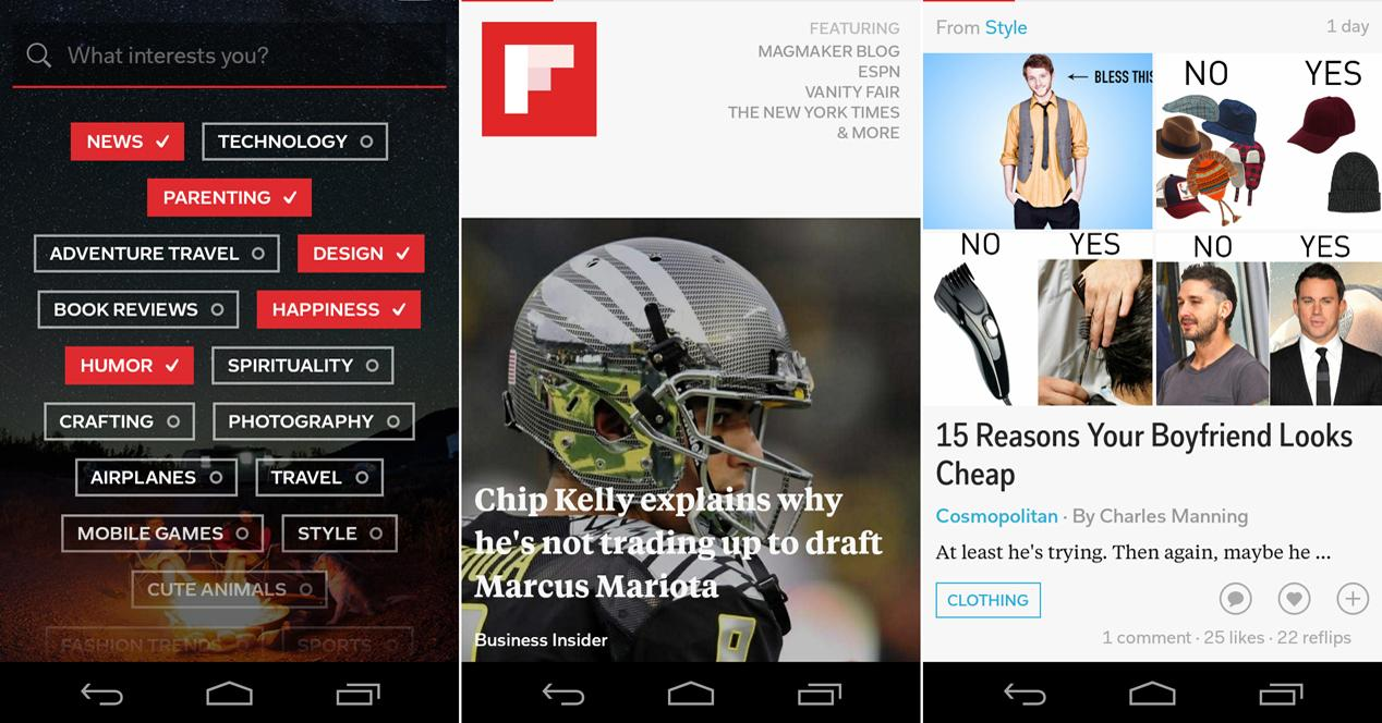 Flipboard - Agregadores de noticias