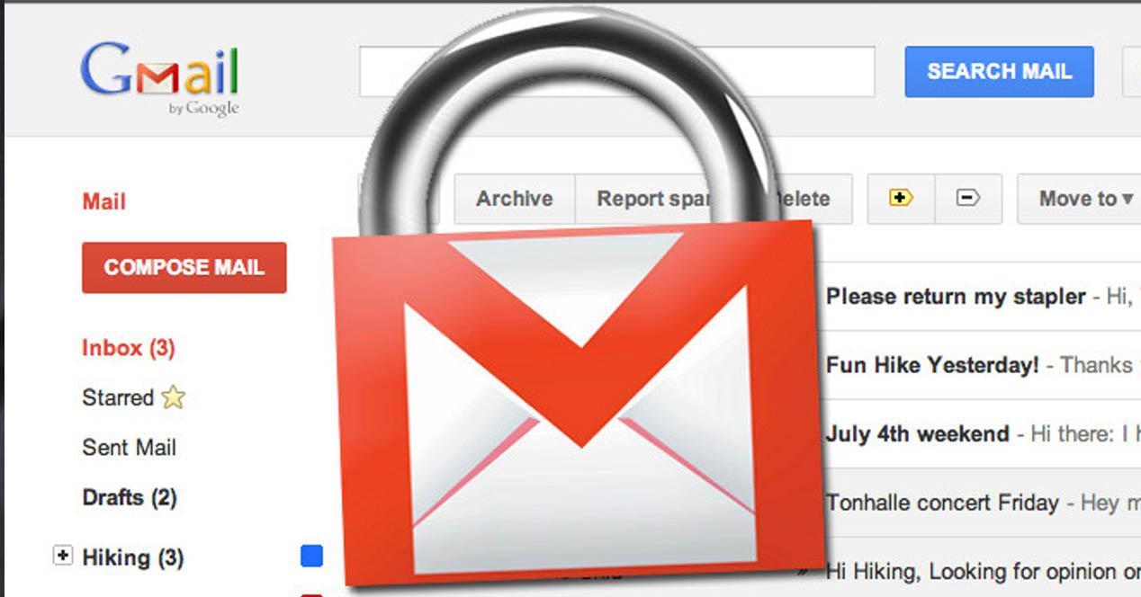 seguridad gmail
