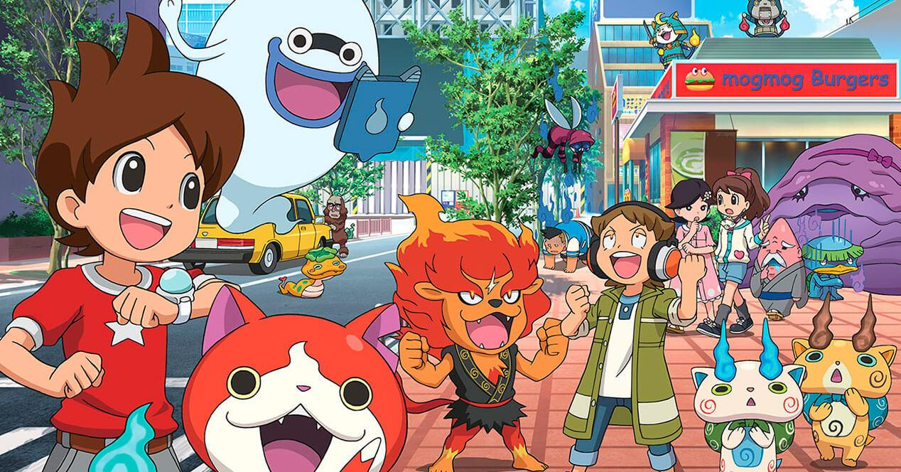 yo-kai watch fenomeno pokemon