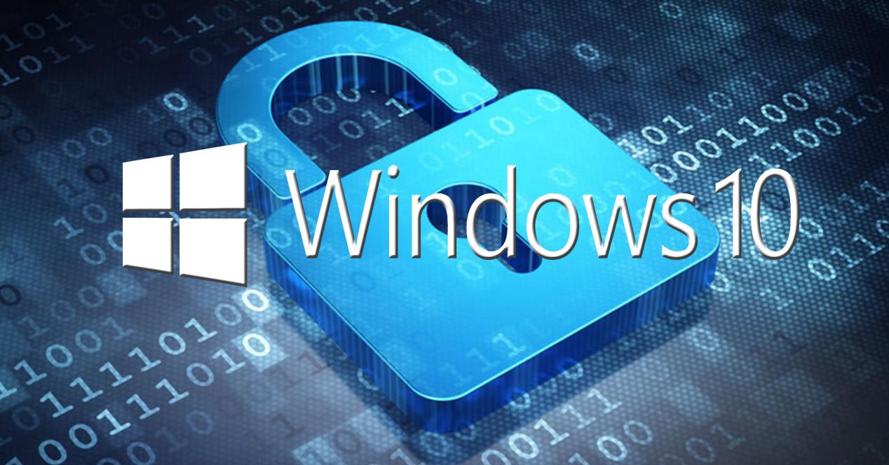 Clave cifrado en Windows 10