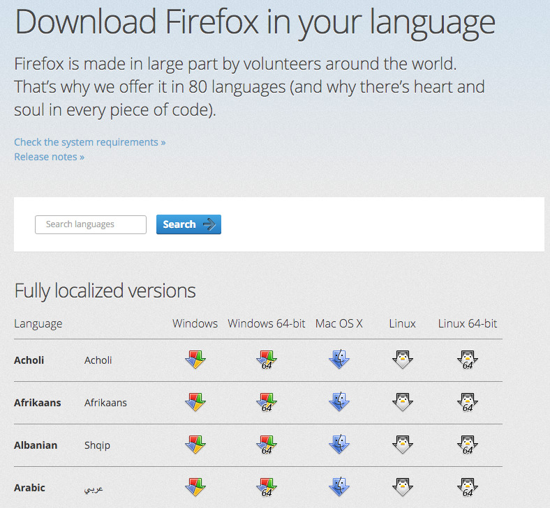 Descargar mozilla firefox gratis en español para windows 7 32 bits