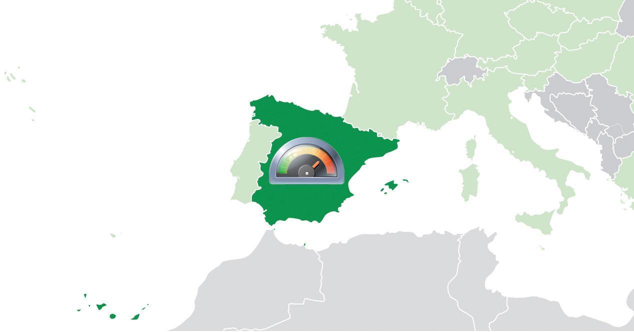 Velocidad en España