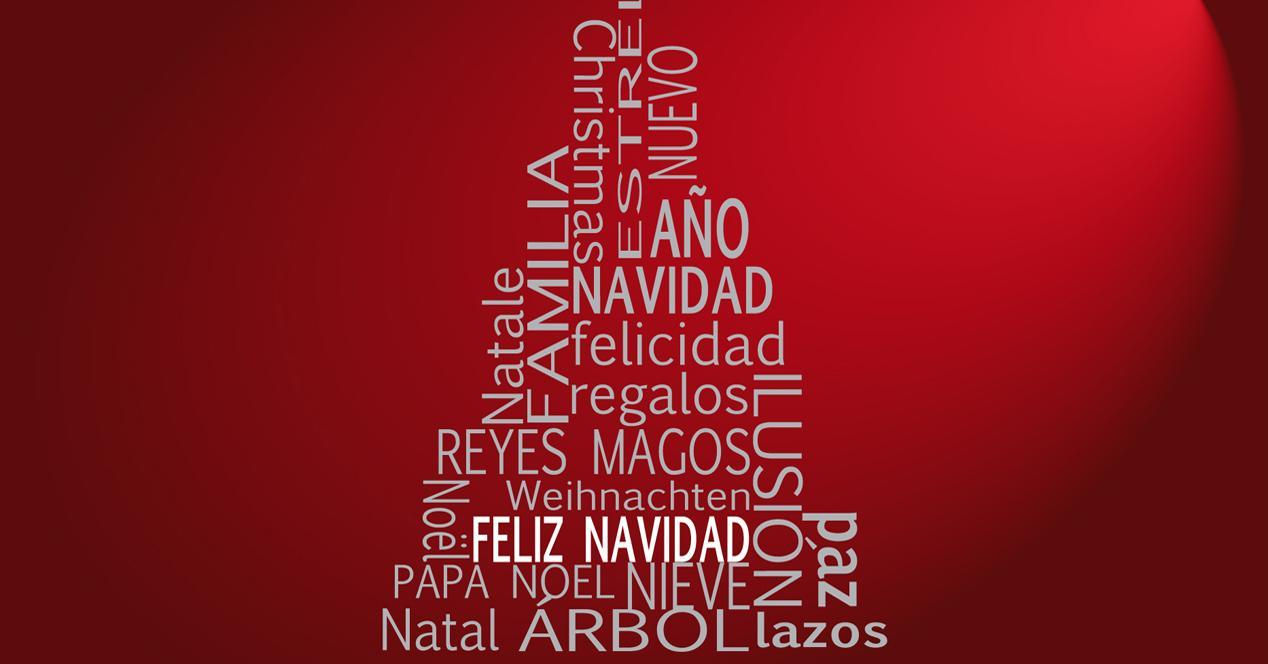 Felicitaciones De Navidad En Castellano.Crea Tus Propias Tarjetas Navidenas Virtuales Para Felicitar
