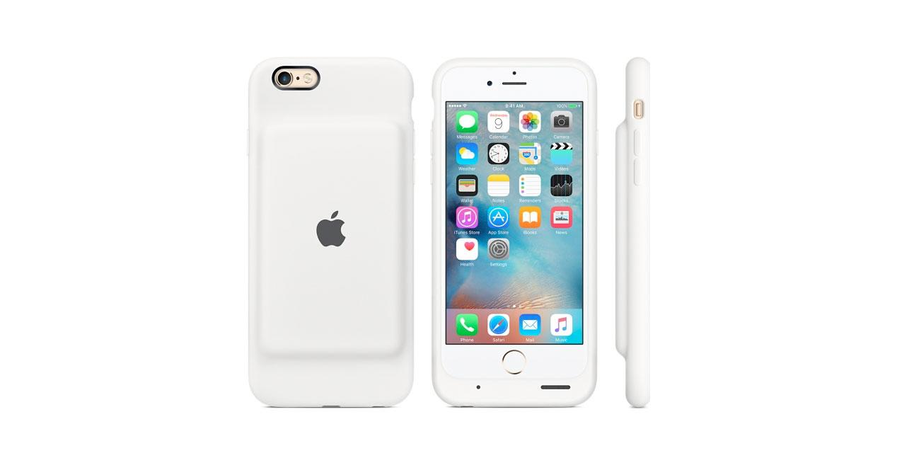 9affed15ab4 Prepara 120 euros para la funda oficial de Apple con batería para iPhone
