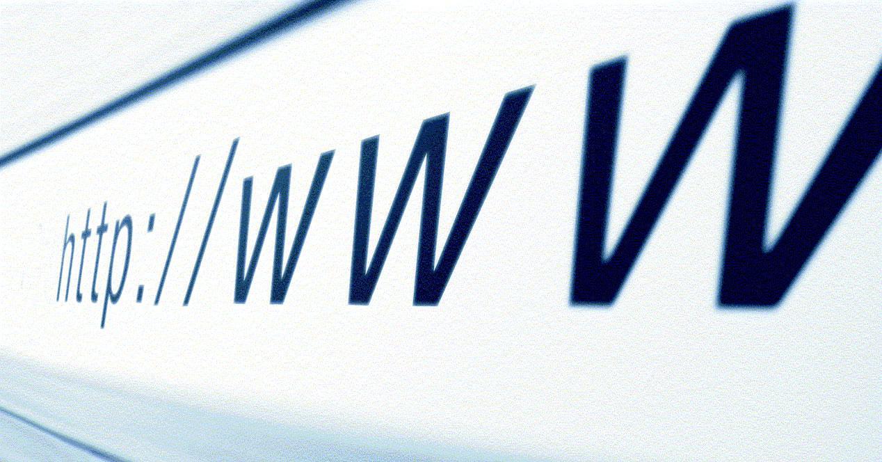 www-direccion historial de navegación