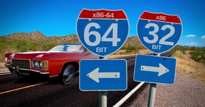32bit vs 64bit