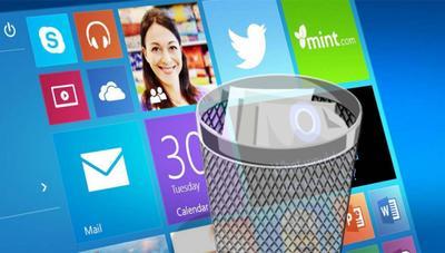 Cómo desintalar las aplicaciones preinstaladas en Windows 10