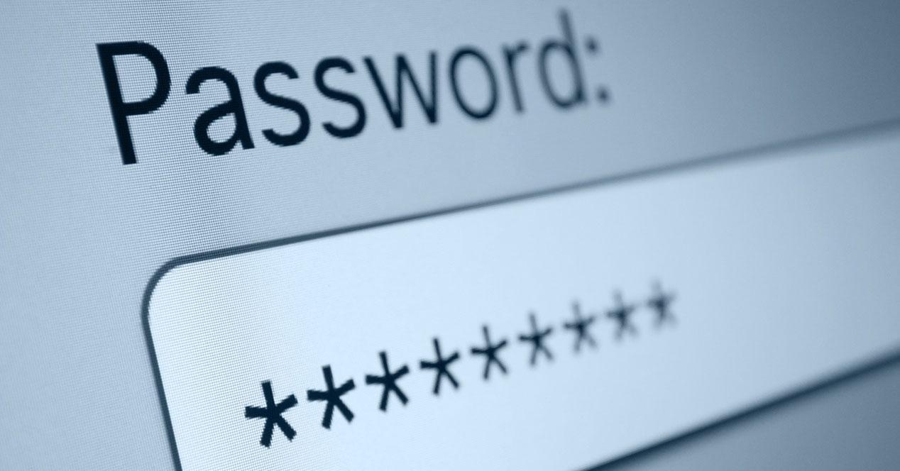 robo de password