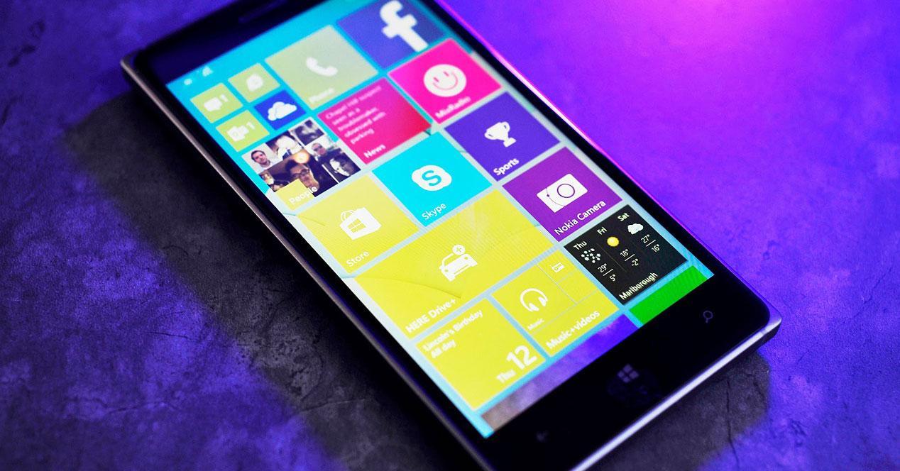 smartphone windows 10 mobile