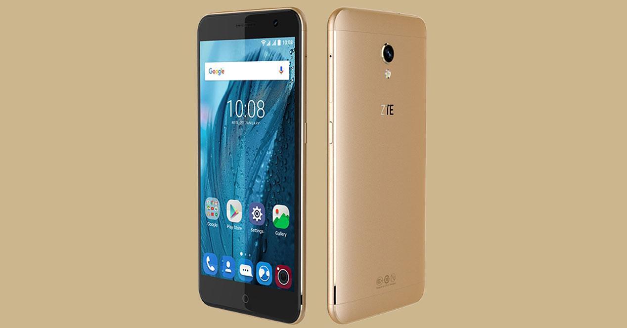 zte blade v7 smartphone android