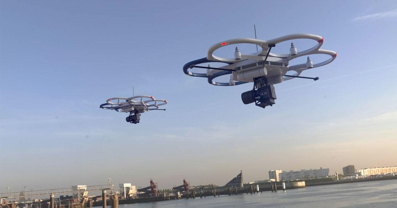 Drone Ciudad