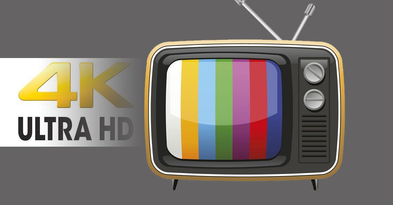 television digital terrestre uhd 4k