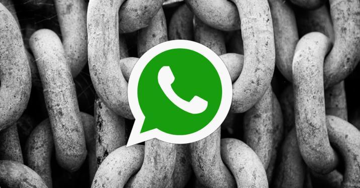 whatsapp cifrado chat cadenas