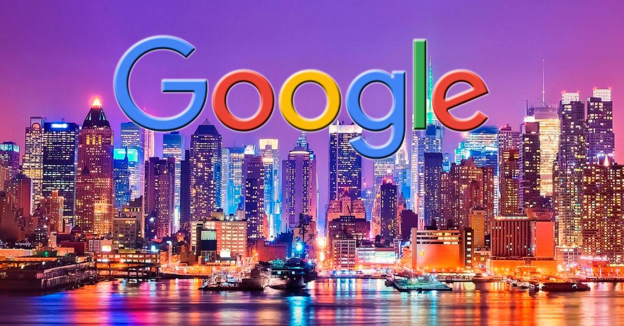 Destinos en Google
