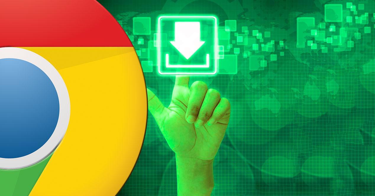 Error descargas Chrome