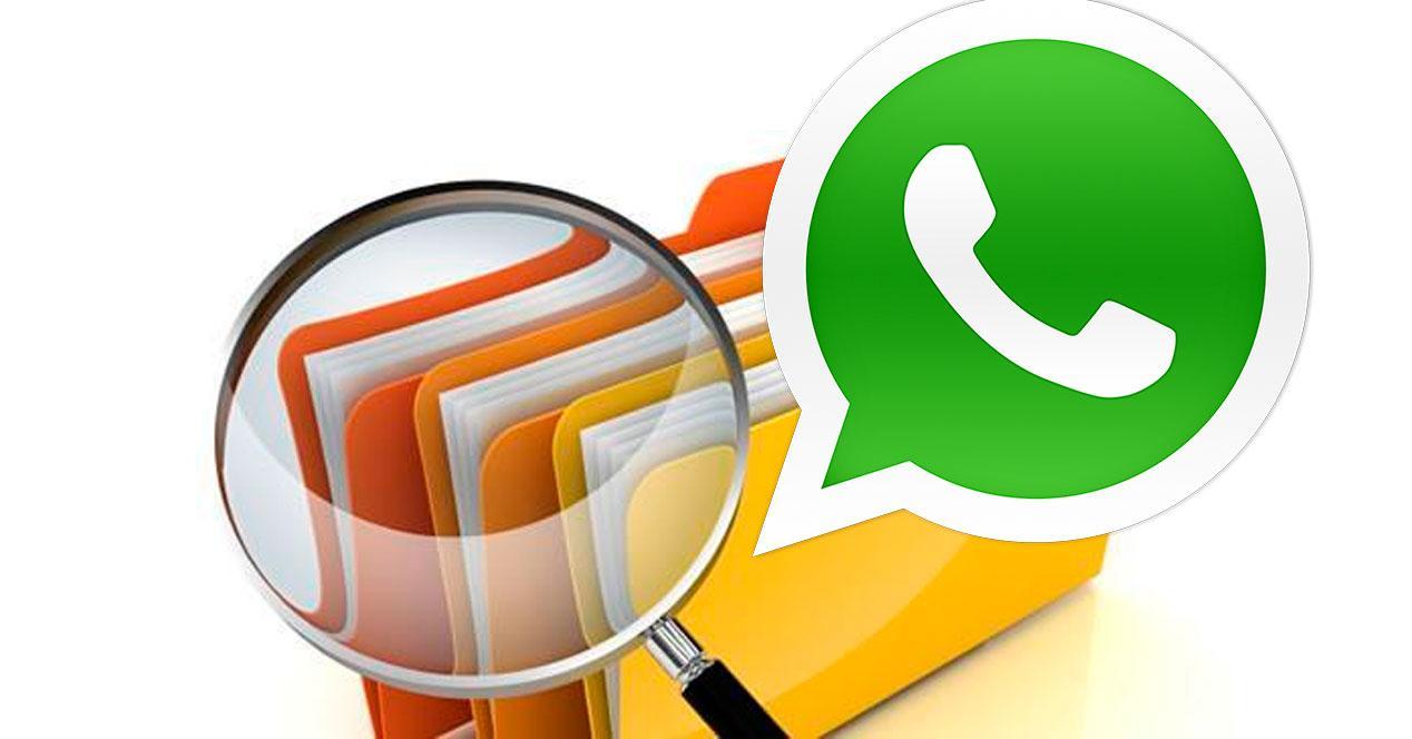 Explorador archivos WhatsApp
