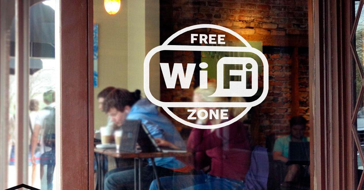 WiFi gratis pública