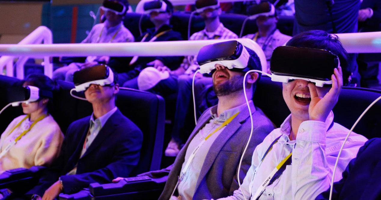 gafas dispositivos realidad virtual gear vr