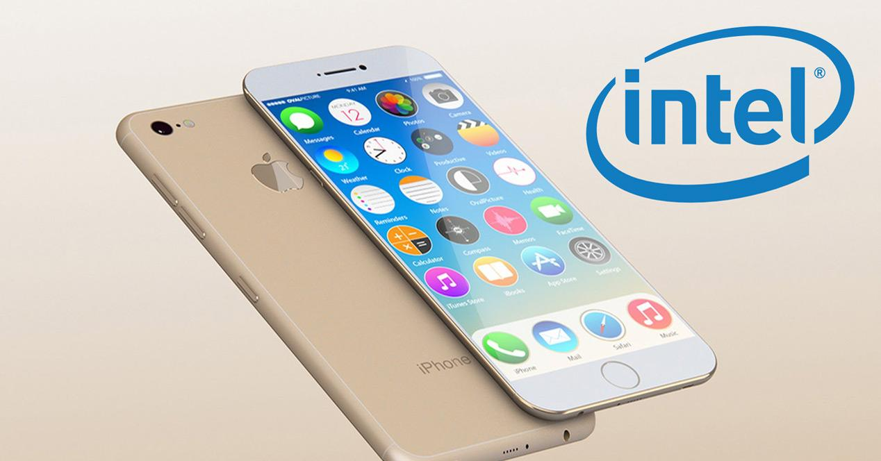 colaboracion intel y apple en iphone 7