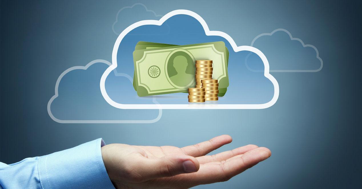 nube de pago