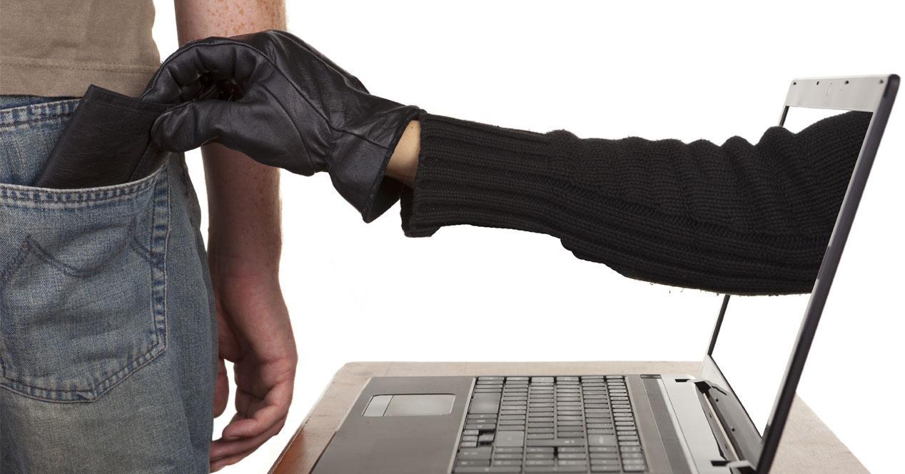 robo datos internet phising