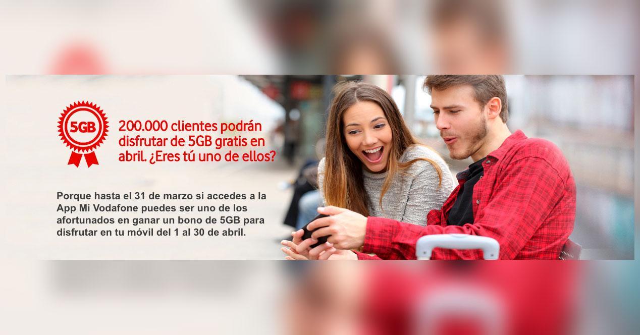 Vodafone 5GB