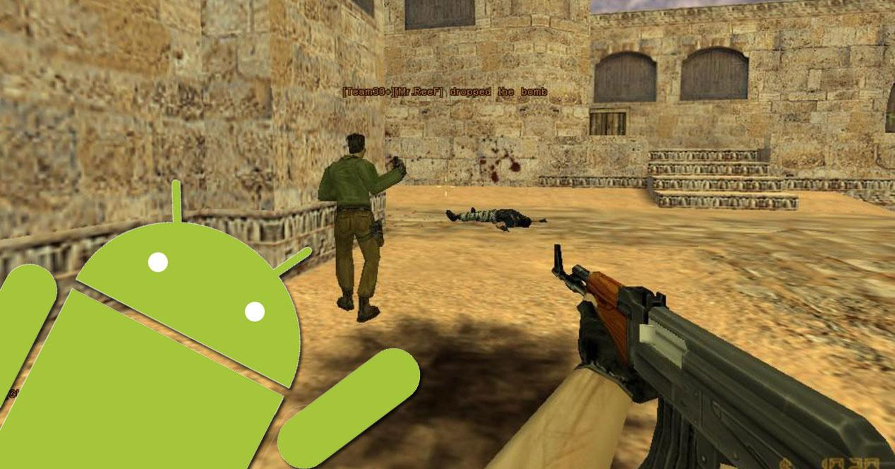 moviles android counter strike videojuego