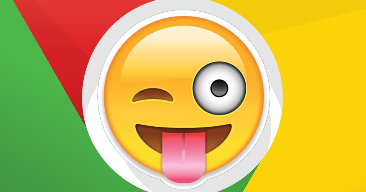 insertar emojis en chrome