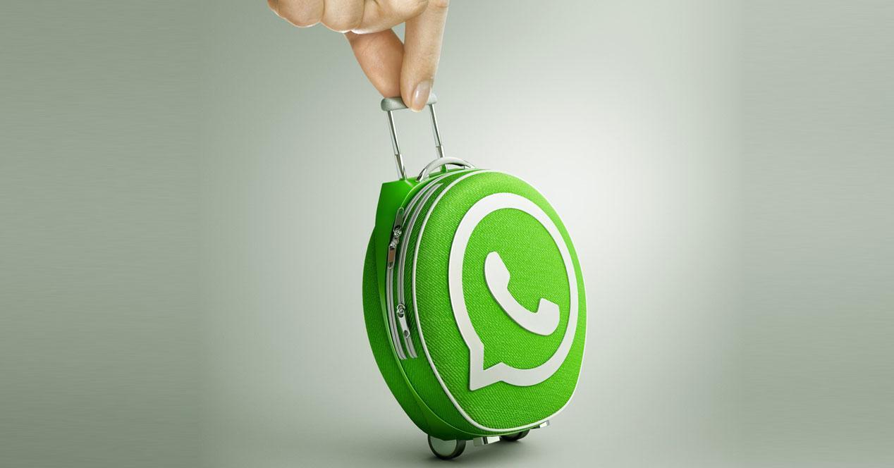 maleta whatsapp viaje