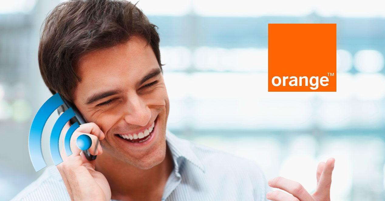Llamadas WiFi Orange