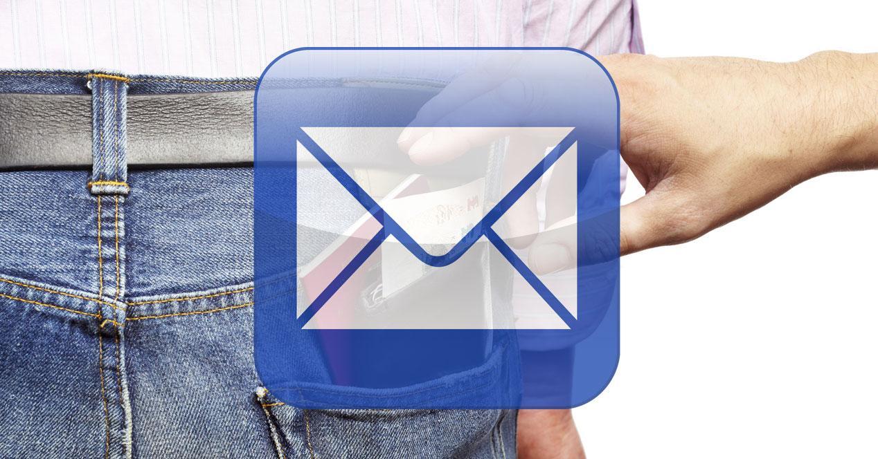 estafa correo electronico robo