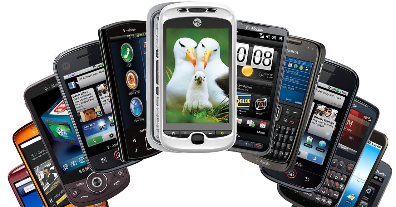 Vender móviles antiguos